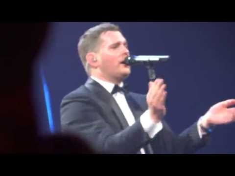 Michael Buble IT'S A BEAUTIFUL DAY Indianapolis 9/15/2013