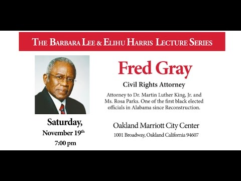 Fred Gray Livestream Saturday 11/19