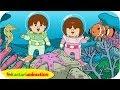 Kutahu Dunia Air (ikan, bintang laut, kuda laut) - Kastari Animation Official