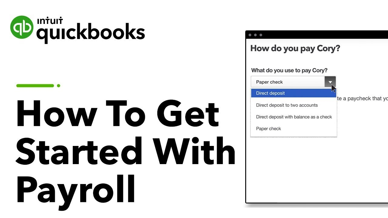 How to get started with payroll in quickbooks tutorial youtube how to get started with payroll in quickbooks tutorial baditri Images