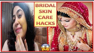 Pre Bridal Skin Care Routine | Bridal Ubtan|Skin Polishing at Home for Glowing skin|SKIN CARE HACKS