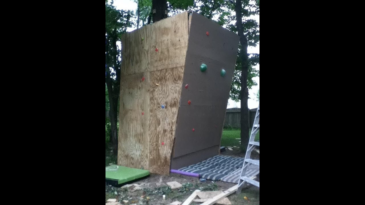 Charmant Home Climbing Wall