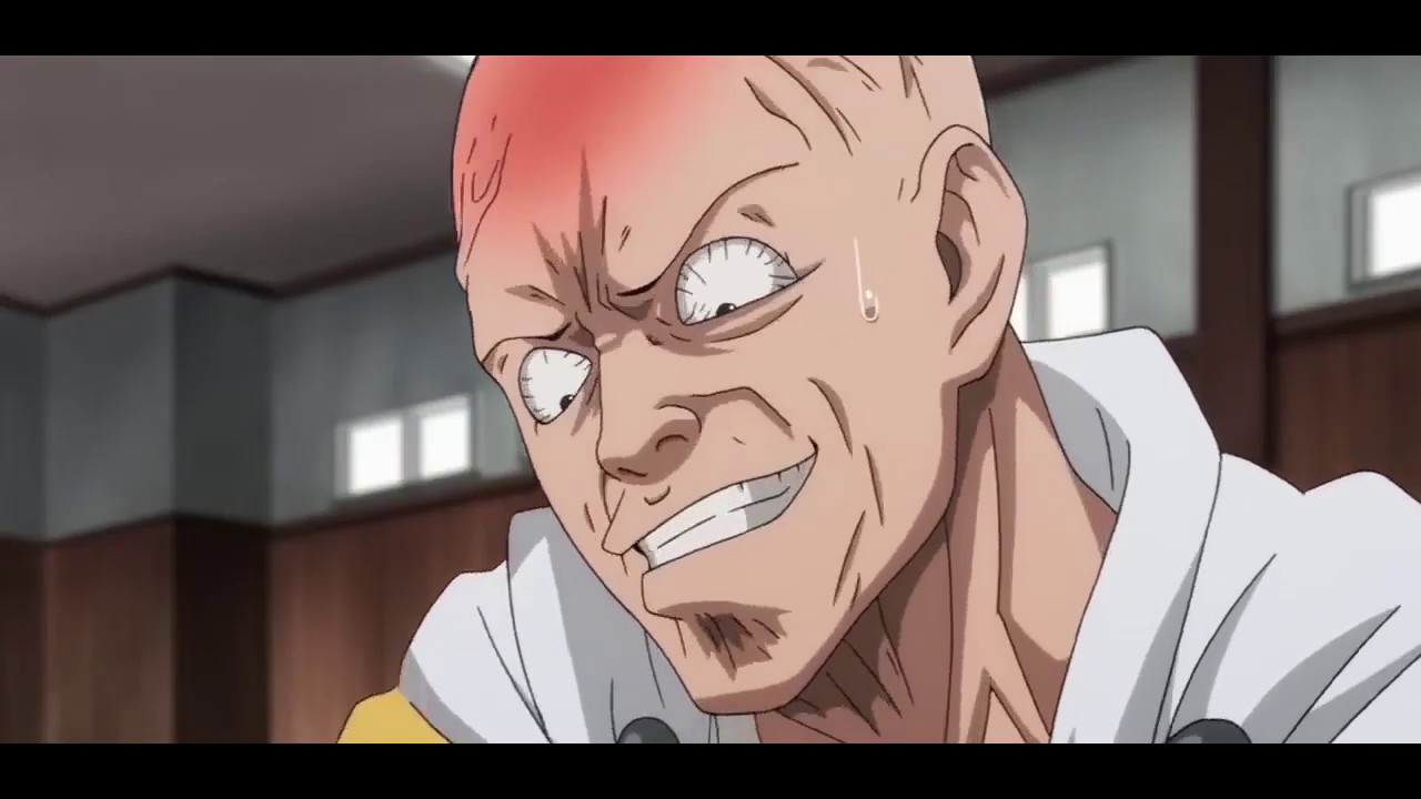 One Punch Man - Saitama funny moment - YouTube