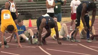 2012 U.S. Paralympics Day 2 Trials Men 100m T42