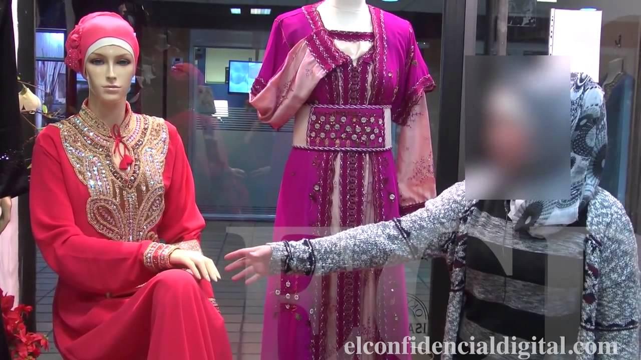 Una mujer musulmana explica cómo son sus vestidos que utiliz - YouTube