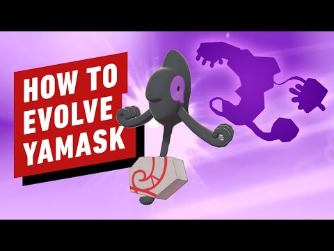 Pokemon Sword & Shield: How to Evolve Yamask into Runerigus