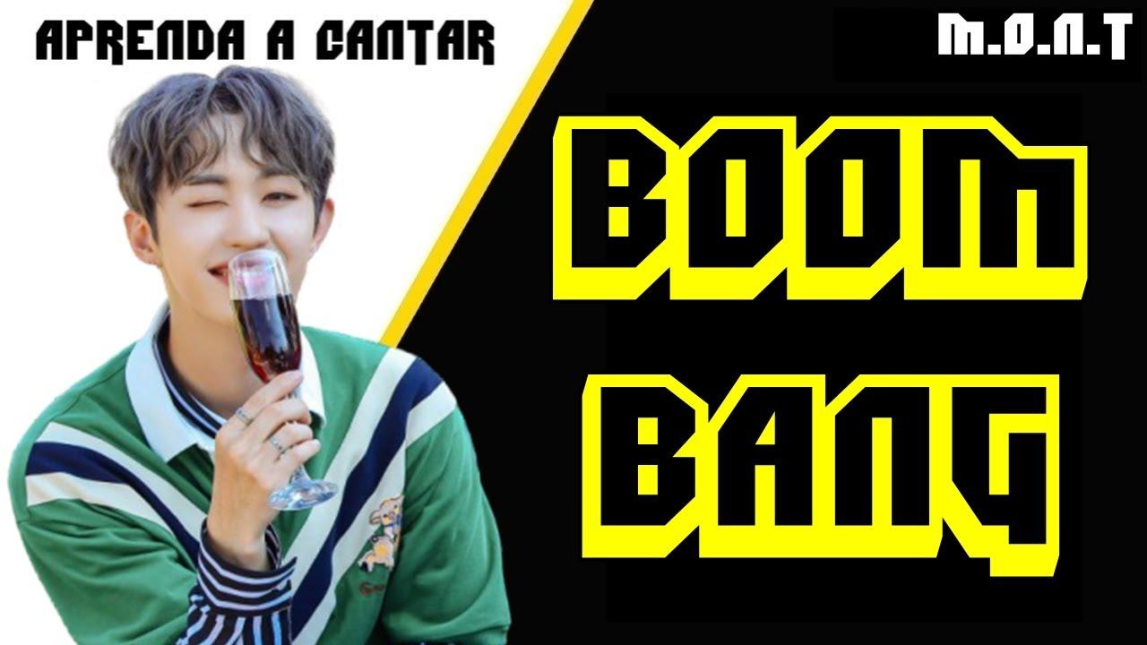 Aprenda a cantar M.O.N.T - BOOM BANG (letra simplificada)