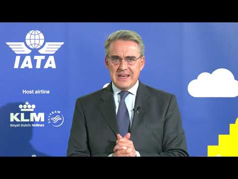 Alexandre de Juniac's Report on the Industry at IATA AGM 2020