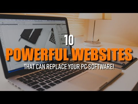 10 Powerful Websites That Can Replace Your PC Software!