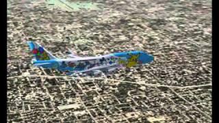 Flight simulator 2002 Los Angeles - Tokyo