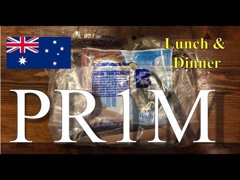 "*Australia ""PR1M""* Patrol Ration, 1 Man ~2018!~"