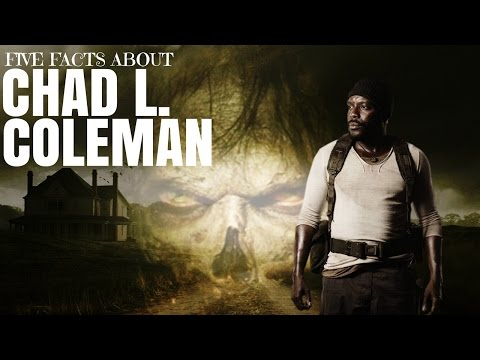 Meet the Actor Chad L. Coleman (Tyreese Williams from The Walking Dead)