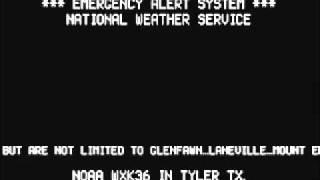 EAS TORNADO WARNING FOR RUSK COUNTY TX.