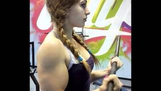 julia vins a 17 year old russian powerlifter with a doll like face