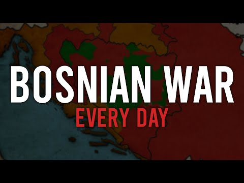 Bosnian war - Every day (1992-1995)