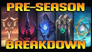 PRESEASON 2018 BREAKDOWN!! All New Runes & New IP/Leveling Systems Explained - League of Legends