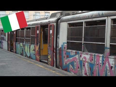 THE TRAIN RIDE FROM HELL!-Naples to Sorrento, Italy