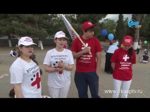 Каспийск в улыбках и  красках детства. Международный день защиты детей с большим размахом отметили в нашем городе
