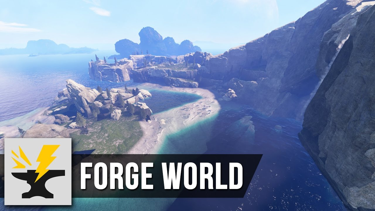 Forge World - Halo 5 Forge Map