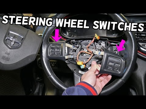 DODGE DART STEERING WHEEL CONTROLS SWITCHES, CRUISE CONTROL SWITCH REPLACEMENT REMOVAL