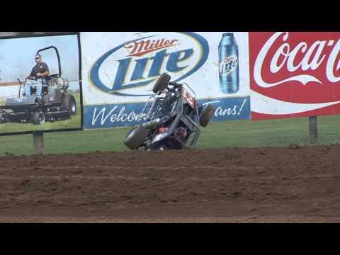 Lincoln Park Speedway USAC Midgetweek thrills Chris Bell