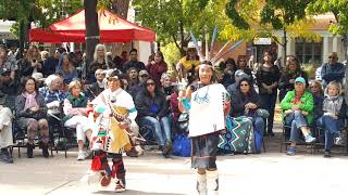 Santa Fe Indigenous Day Commemoration 2018 -   Hopi Dance Group