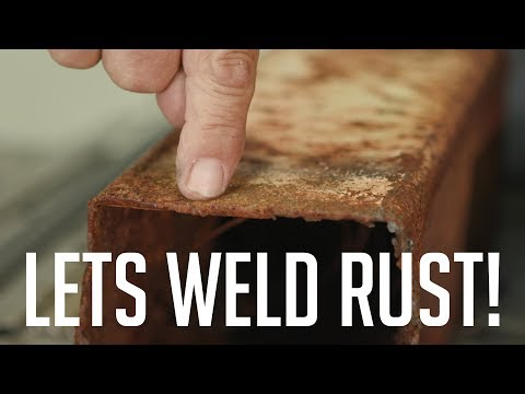 🔥Welding the Heaviest Rust we Could Find