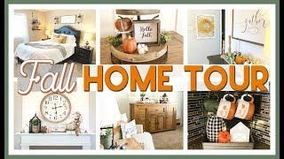 Fall Home Tour 2019 | Farmhouse Fall Decor Ideas