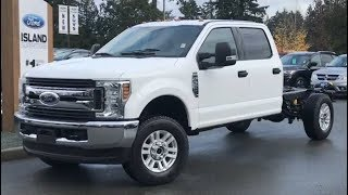 2019 Ford F-350 XLT V8 CrewCab Chassis Review| Island Ford