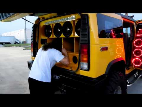 Thumbnail: Hummer H2 DS-18 Miami Demo Car for Spirit Company by ADN, Galaxy Sound and City Car Audio