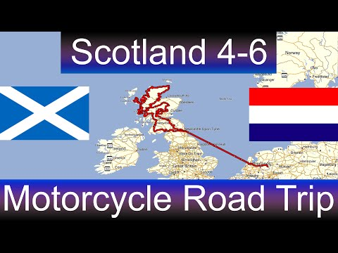 The Great Scotland Motorcycle Road Trip - Part 4-6