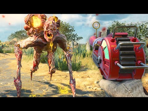 NEW BO4 ZOMBIES BOSS FIGHT BLACKOUT EASTER EGG: BOSS DEFEATED & REWARDS! (Black Ops 4 Blackout)
