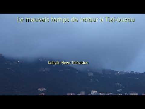Retour du froid à Tizi-ouzou avec une coupure de gaz naturel dans la ville de Tizi-ouzou
