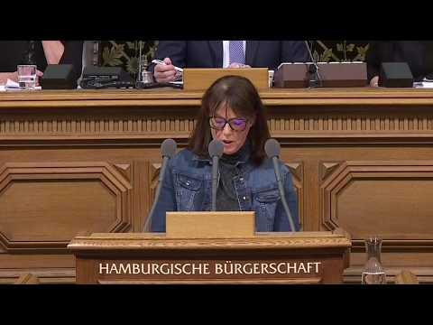 """""""G20 ist der schlimmste Sündenfall des Senats"""": Sabine Boeddinghaus am 20.12. in der Bürgerschaft"""