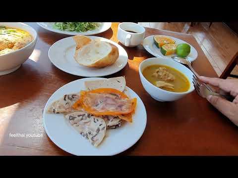 บุฟเฟต์อาหารมื้อเช้าอร่อยโรงแรมMarguerite Hotel วิวสวยที่สุดในดาลัด เวียดนาม