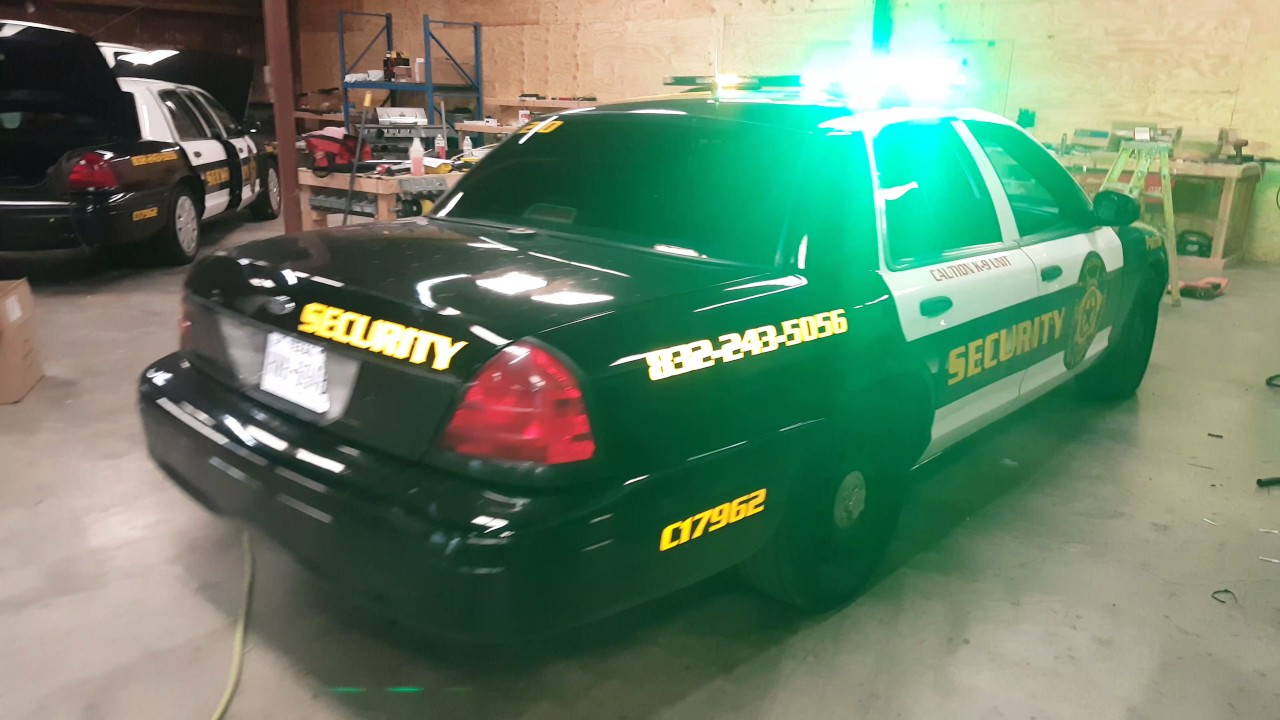 Priority Protections Security Vehicle Police Light Install By Efs Houston Emergency Fleet Service