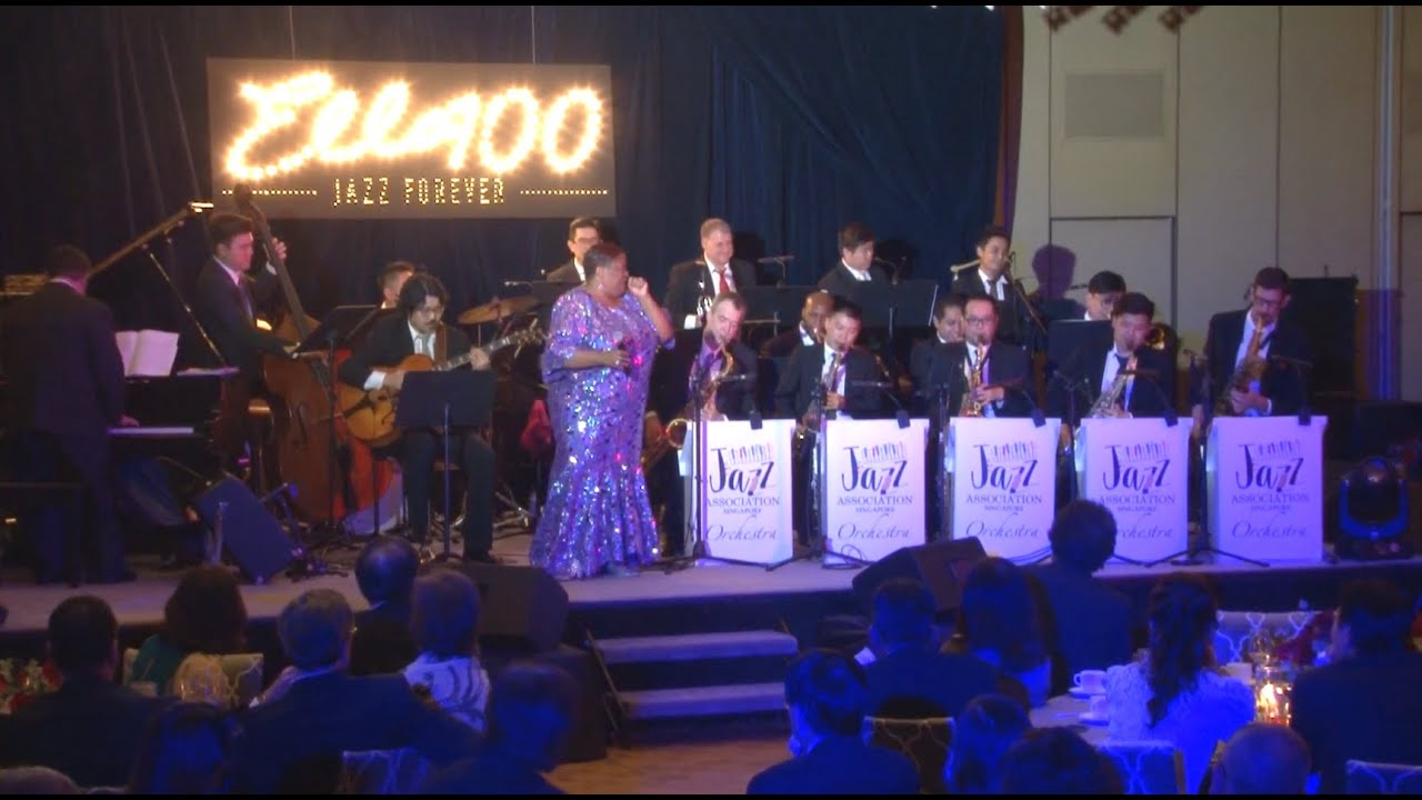 "Jazz Association (Singapore) Benefit Gala 2017 - ""Ella 100, Jazz Forever"""