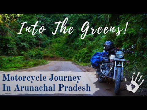 Motorcycle Journey in Arunachal Pradesh : North East India : A Travel Film in Marathi