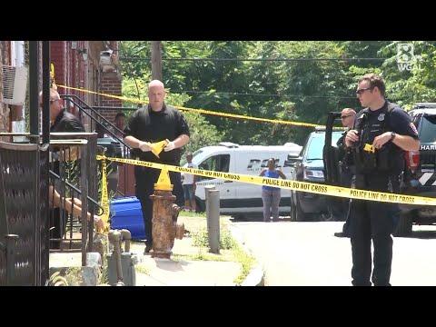 Harrisburg Shooting Scene: Shrub Street