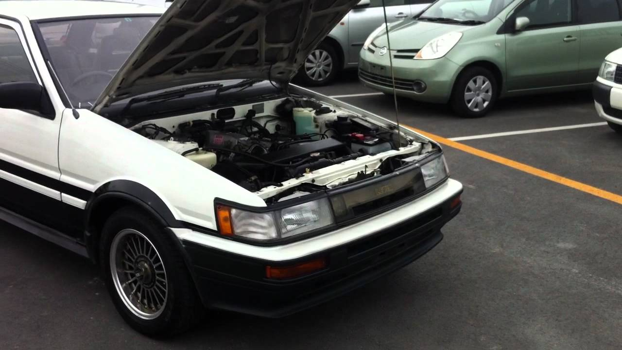 1987 Toyota Corolla Levin Gt-apex - 2012 - Trd Work Nardi