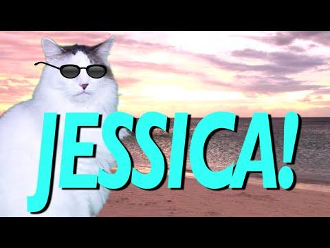 HAPPY BIRTHDAY JESSICA! - EPIC CAT Happy Birthday Song
