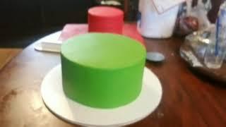Ninjago tutorial cake /tutorial de pastel ninjago
