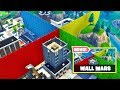 MEGA-WALLS NO FORTNITE! * Guerra de Comida  *