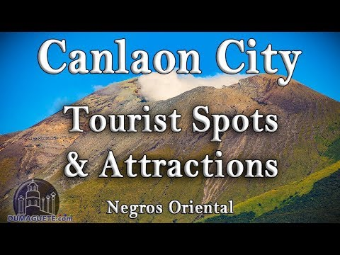 Tourist Spots & Attractions in Canlaon City   Negros Oriental