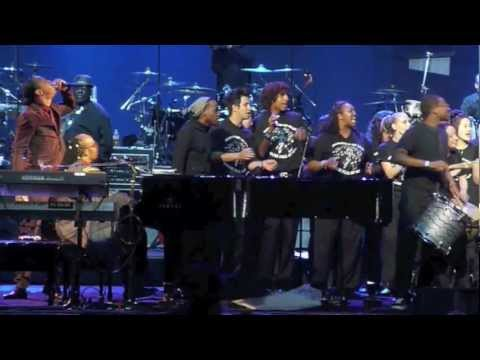 A Time to Love at Stevie Wonders House Full of Toys Concert 12172011