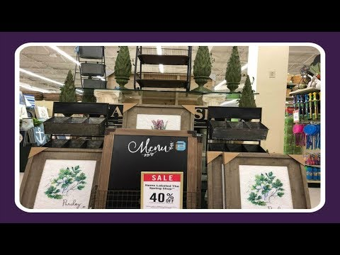 Shop With Me Home Decor At Hobby Lobby! Spring