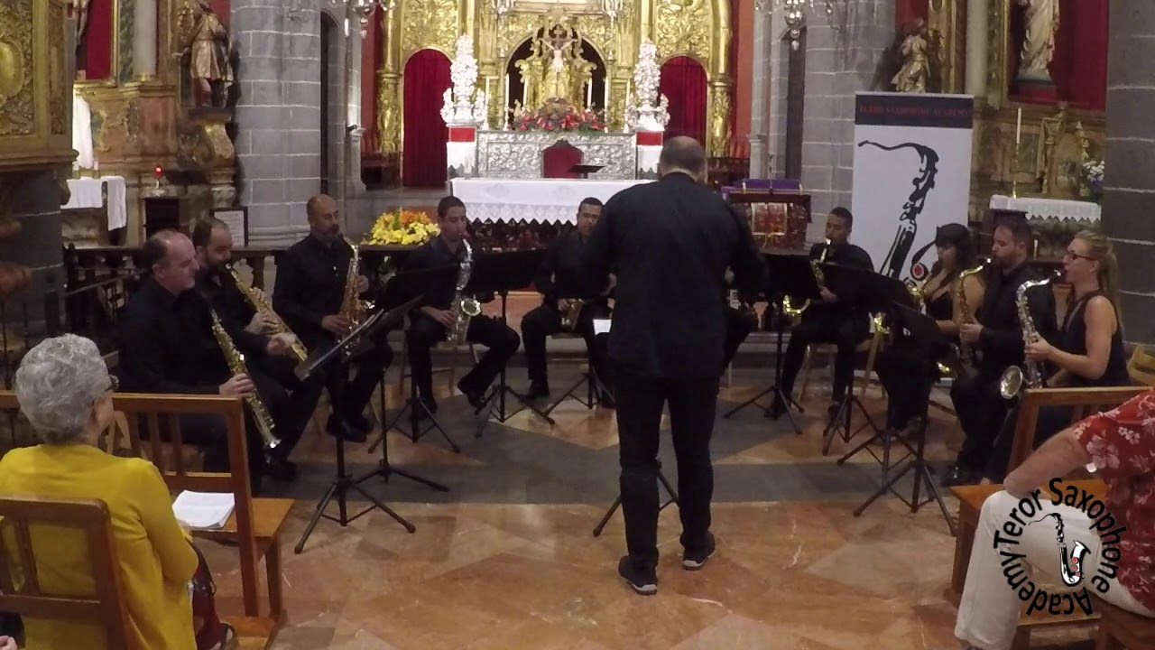 Elsa´s Procession (R. Wagner)  - Teror Saxophone Academy 2018