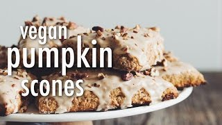 VEGAN PUMPKIN SCONES | hot for food