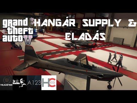 GTA 5 - Hangár Supplyzgatás & Eladás [ Smuggler's Run ]