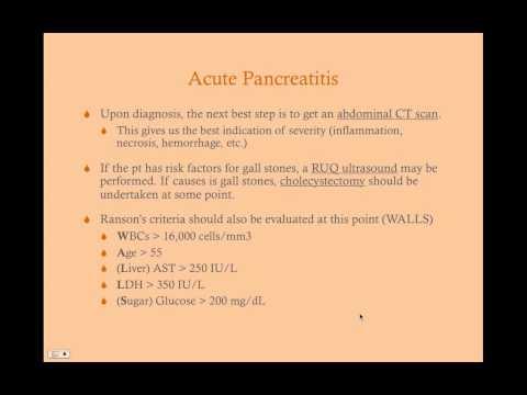 Pancreatitis - CRASH! Medical Review Series